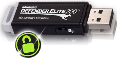 ... Media Corporation, has added a secure flash drive to its arsenal