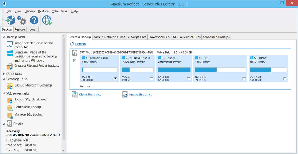 how to use macrium reflect to clone a hard drive