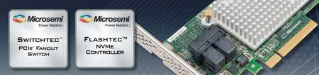 MICROSEMI Flashtec NVMe 3016 Gen 4 PCIe controller 1808SN