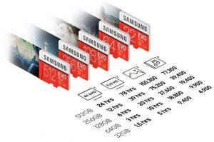 Samsung EvoPlus microSD_EVO plus series