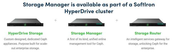 SoftIron: Unified Storage Manager for Management of Ceph
