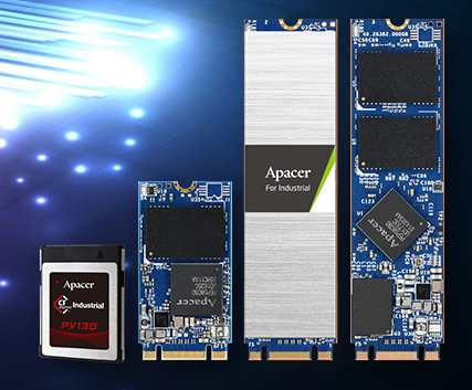 Apacer Industrial-Grade PCIe NVMe Gen3 SSD Series With 64