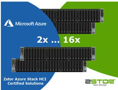Zstor Certified for Azure Stack HCI - StorageNewsletter
