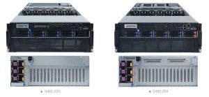 Gigabyte Servers G482 Z53 And G482 Z54