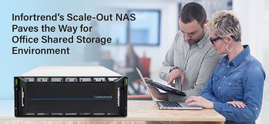 Infortrend Office Shared Storage
