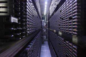 Dkrz Tape Library Inside