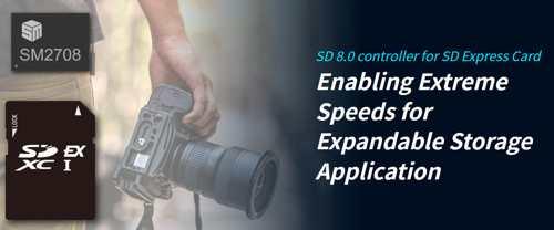 Silicon Motion Sm2708 Sd Controller Intro